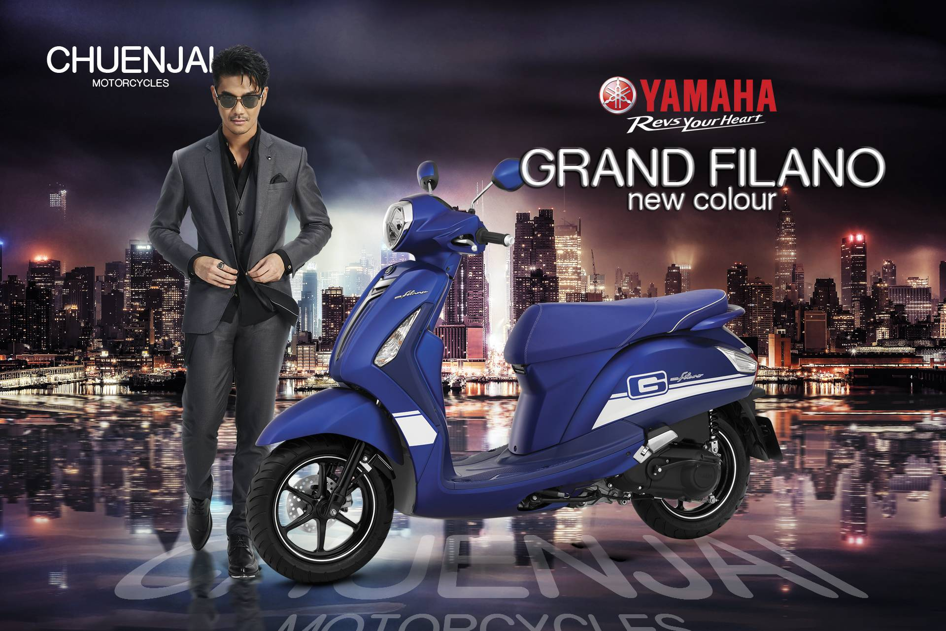 Yamaha Grand Filano SPORTIVO